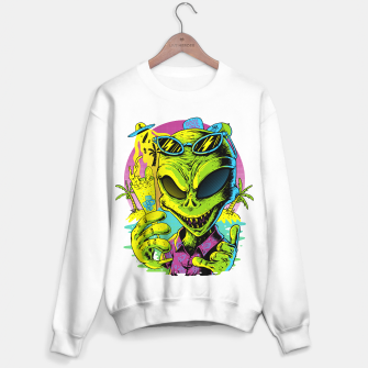 Miniatur Alien Summer Vibes Sweater regular, Live Heroes