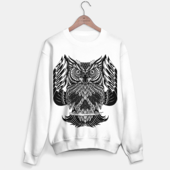 Miniatur Owl Skull Ornate Sweater regular, Live Heroes