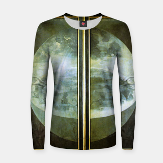 Fashion and decor items of Hieronymus Bosch painting The Creation of the World - The exterior shutters of The Garden of Earthly Delights Women sweater Bild der Miniatur