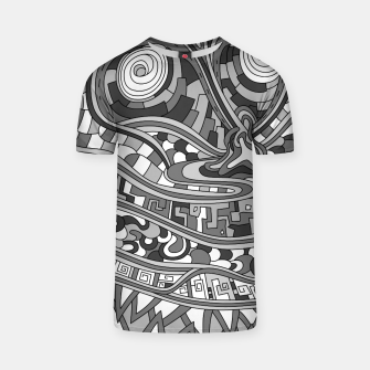 Thumbnail image of Wandering 03: grayscale T-shirt, Live Heroes