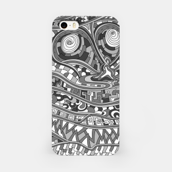 Thumbnail image of Wandering 03: grayscale iPhone Case, Live Heroes