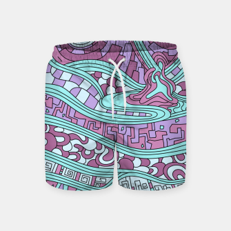 Miniatur Wandering 03: color variation 3 Swim Shorts, Live Heroes