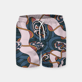 Miniatur Wandering 04: color variation 1 Swim Shorts, Live Heroes
