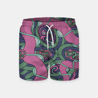 Miniatur Wandering 04: color variation 3 Swim Shorts, Live Heroes