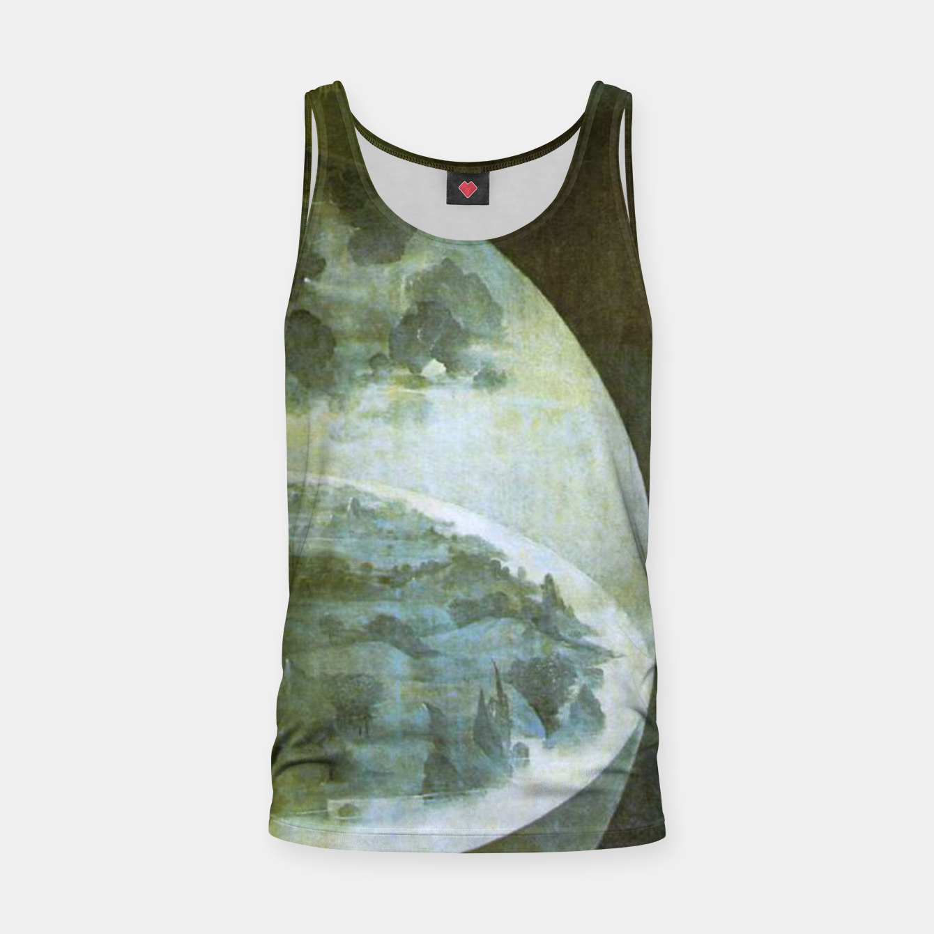 Foto Fashion and decor items of Hieronymus Bosch painting The Creation of the World - The exterior shutters of The Garden of Earthly Delights Tank Top - Live Heroes