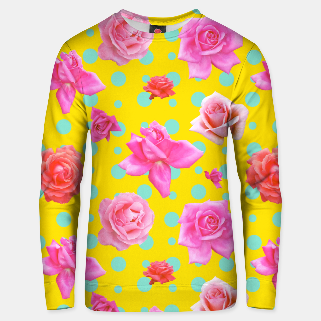 Image of Pop of Colour Unisex sweater - Live Heroes