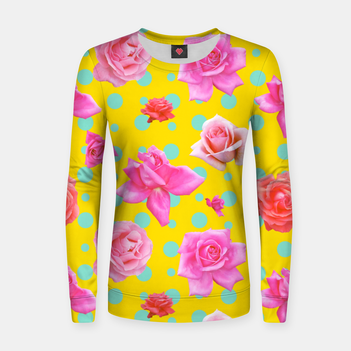 Image of Pop of Colour Women sweater - Live Heroes