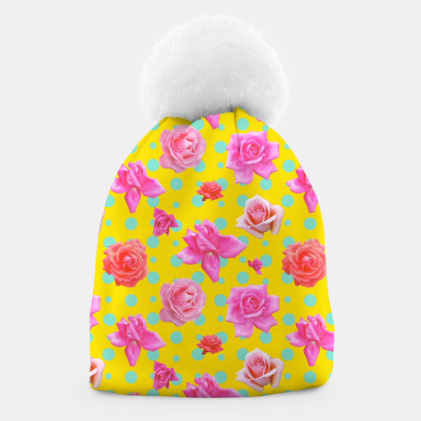 Image of Pop of Colour Beanie - Live Heroes