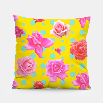 Thumbnail image of Pop of Colour Pillow, Live Heroes