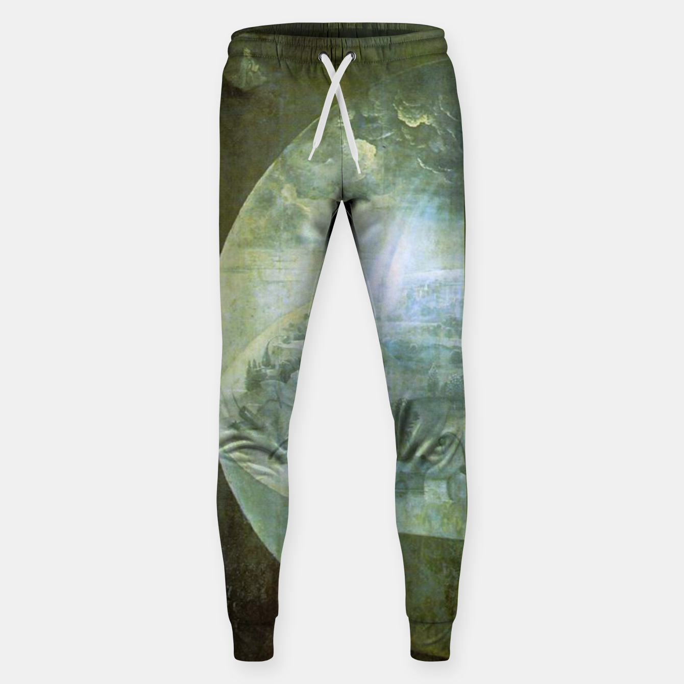 Foto Fashion and decor items of Hieronymus Bosch painting The Creation of the World - The exterior shutters of The Garden of Earthly Delights Sweatpants - Live Heroes