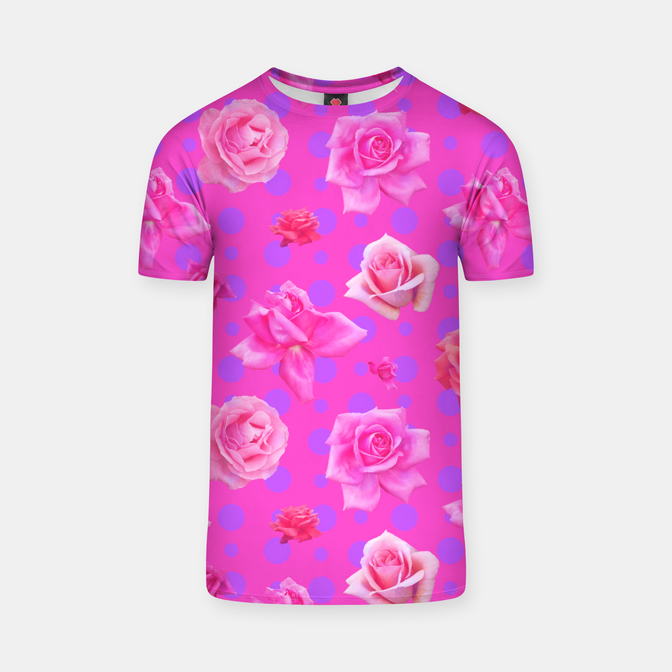 Image of Pop of Pink T-shirt - Live Heroes