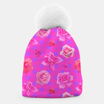 Thumbnail image of Pop of Pink Beanie, Live Heroes