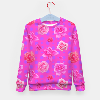 Thumbnail image of Pop of Pink Kid's sweater, Live Heroes
