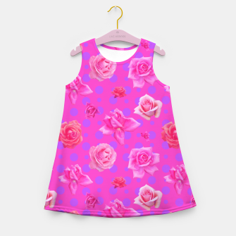Thumbnail image of Pop of Pink Girl's summer dress, Live Heroes