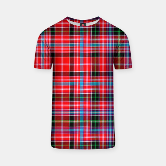 Miniaturka Aberdeen District Tartan T-shirt, Live Heroes