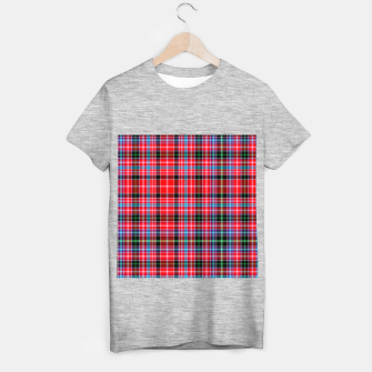 Miniaturka Aberdeen District Tartan T-shirt regular, Live Heroes