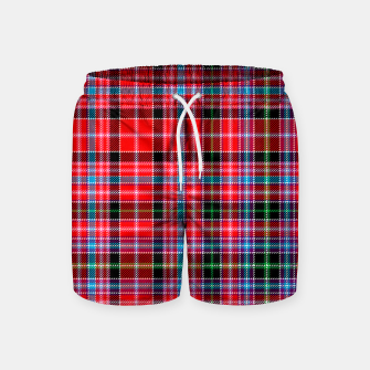 Miniaturka Aberdeen District Tartan Swim Shorts, Live Heroes