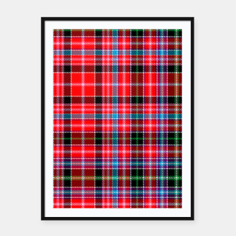 Miniaturka Aberdeen District Tartan Framed poster, Live Heroes