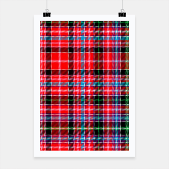 Miniaturka Aberdeen District Tartan Poster, Live Heroes