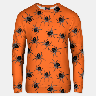 Thumbnail image of Creepy Spiders  Unisex sweater, Live Heroes