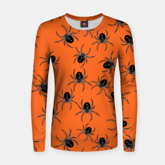 Thumbnail image of Creepy Spiders  Women sweater, Live Heroes