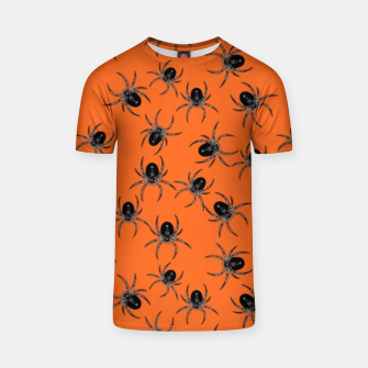 Thumbnail image of Creepy Spiders  T-shirt, Live Heroes
