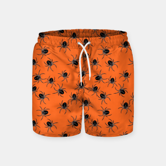 Thumbnail image of Creepy Spiders  Swim Shorts, Live Heroes