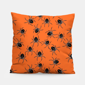 Thumbnail image of Creepy Spiders  Pillow, Live Heroes