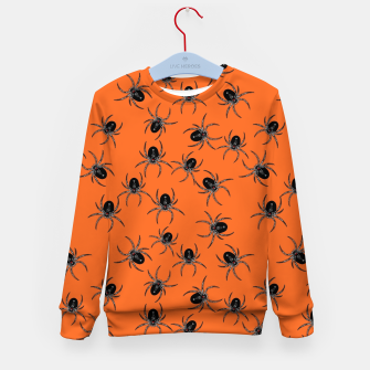 Thumbnail image of Creepy Spiders  Kid's sweater, Live Heroes