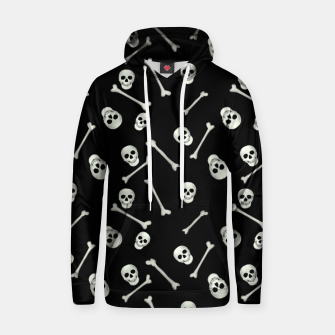 Halloween Skull and bones Hoodie thumbnail image