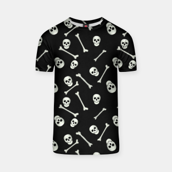 Halloween Skull and bones T-shirt thumbnail image