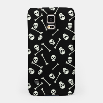 Thumbnail image of Halloween Skull and bones Samsung Case, Live Heroes