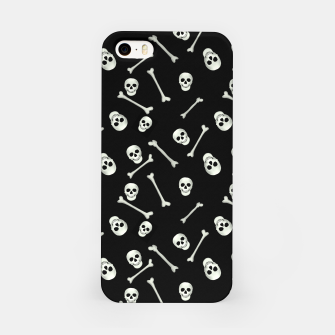 Thumbnail image of Halloween Skull and bones iPhone Case, Live Heroes