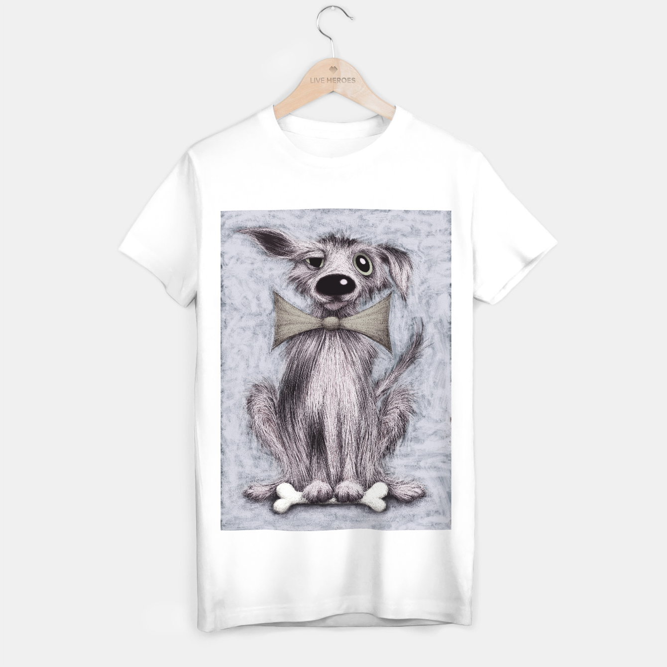 Image of Lucky dog T-shirt regular - Live Heroes
