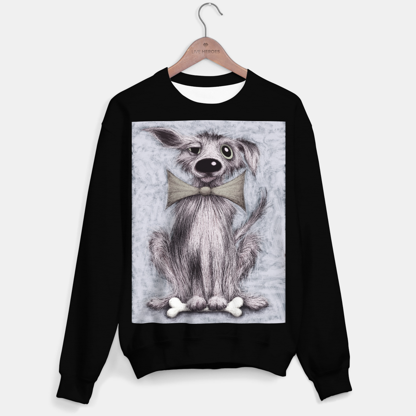 Image of Lucky dog Sweater regular - Live Heroes