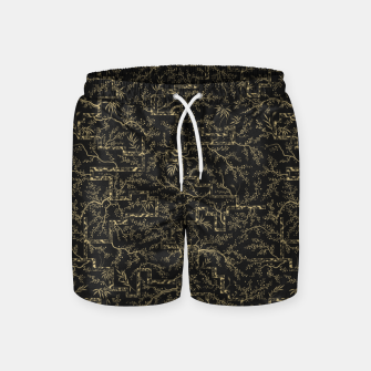 Thumbnail image of The Night Before the Sakura Blooms Swim Shorts, Live Heroes
