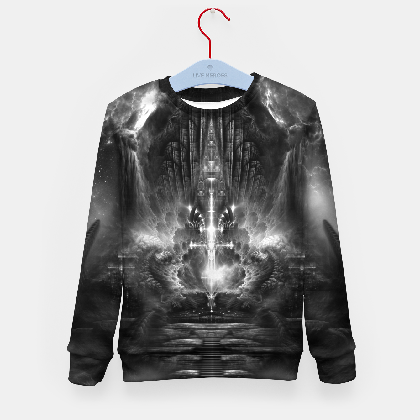 Image of Archive Portal DGS Kid's sweater - Live Heroes