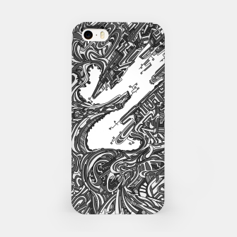 Thumbnail image of Wandering 05: grayscale iPhone Case, Live Heroes