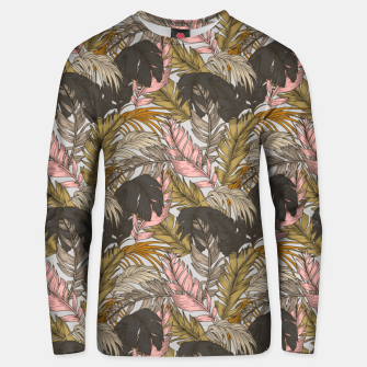 Miniature de image de Sunset on palm leaves 0I Sudadera unisex, Live Heroes