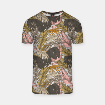 Miniature de image de Sunset on palm leaves 0I Camiseta, Live Heroes