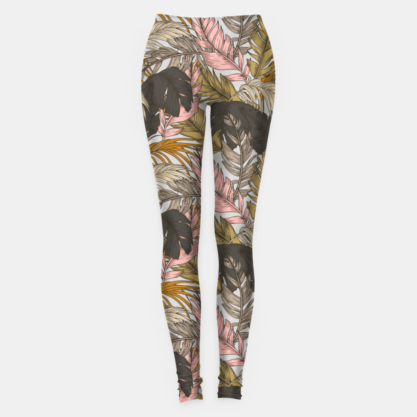 Foto Sunset on palm leaves 0I Leggings - Live Heroes
