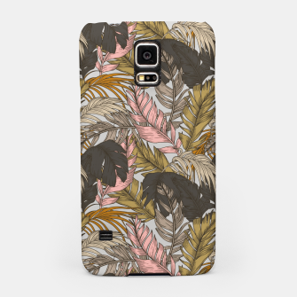 Miniature de image de Sunset on palm leaves 0I Carcasa por Samsung, Live Heroes