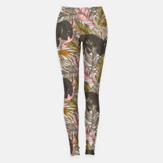 Miniature de image de Sunset on palm leaves 0I Leggings, Live Heroes