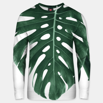 Monstera Delight #4 #tropical #decor #art Unisex sweatshirt miniature