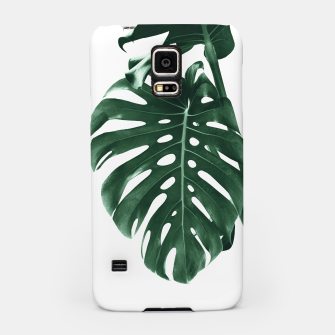 Monstera Delight #4 #tropical #decor #art Handyhülle für Samsung miniature