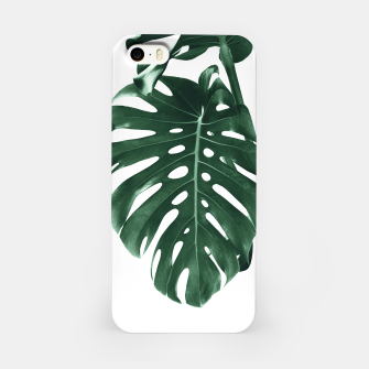 Monstera Delight #4 #tropical #decor #art iPhone-Hülle miniature