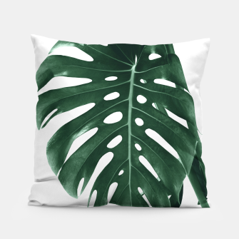 Monstera Delight #4 #tropical #decor #art Kissen miniature
