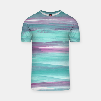 Mermaid Abstract Minimalism #1 #minimal #ink #decor #art T-Shirt obraz miniatury