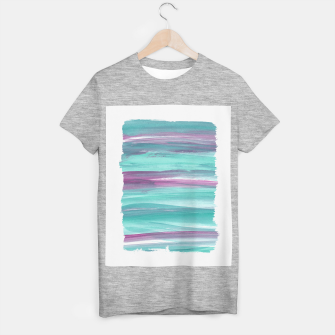 Mermaid Abstract Minimalism #1 #minimal #ink #decor #art T-Shirt regulär miniature