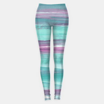 Mermaid Abstract Minimalism #1 #minimal #ink #decor #art Leggings miniature
